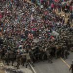Migrant caravan: Guatemala blocks thousands bound for US