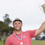 Rahm wins first major at US Open